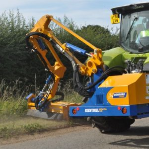 BOMFORD KESTRAL EVO 'S' VFA 5.0M – VARIABLE FORWARD ARM – REACH ARM FLAIL MOWER